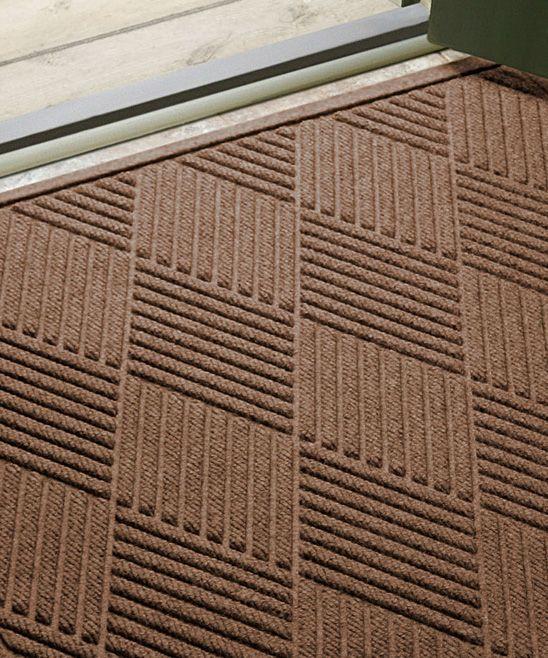 Dark Brown Diamond Aqua Shield Doormat