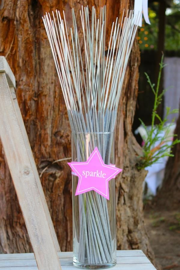 Under the Stars Tween / Teen Girl Birthday Party via Karas Party Ideas
