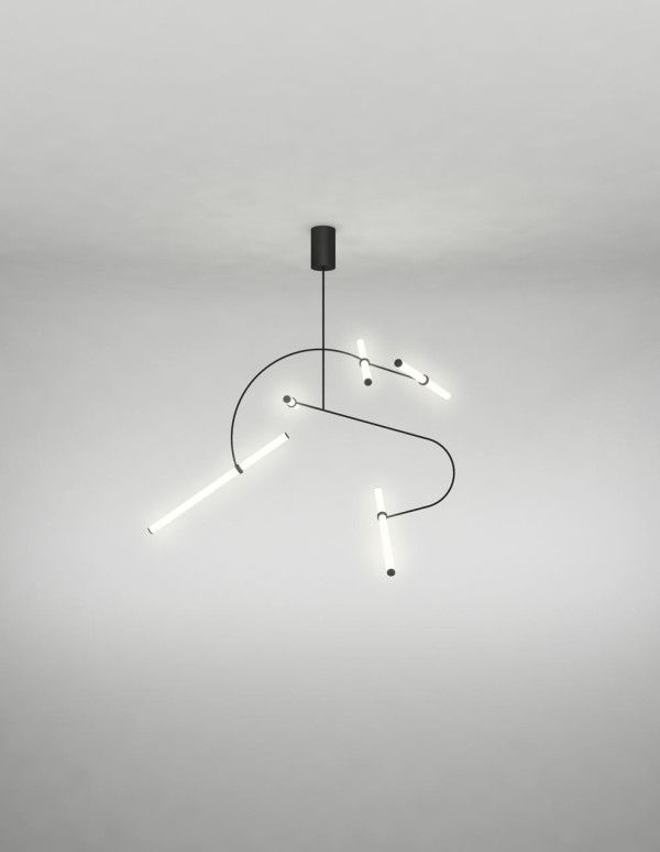 Tube Pendant Collection by Naama Hofman
