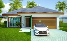 110 – fachadas de casas – plantas de casas – 2