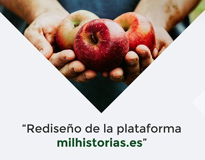 "Check out new work on my @Behance portfolio: ""Rediseño de la plataforma milhistorias.es"" http://be.net/gallery/38121185/Rediseno-de-la-plataforma-milhistoriases"