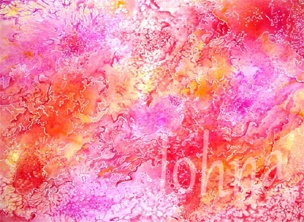It Feels Like This by Johna Gibson Bowman. Abstract art