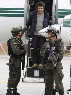 Venezuela deports 'Colombian #drug lord' Diego Rastrojo