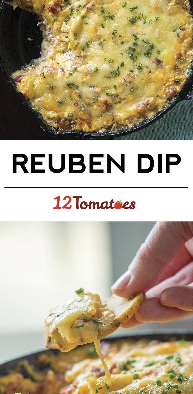 Cheesy Reuben Dip