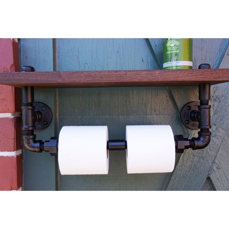 Industrial Chic Bathroom Shelf - Industrial Chic Collection - Dot & Bo