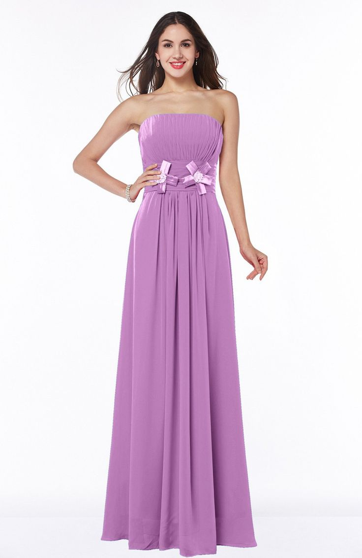 25 ide terbaik orchid bridesmaid gowns di pinterest orchid bridesmaid dress mature a line strapless sleeveless zip up chiffon plus size ombrellifo Choice Image
