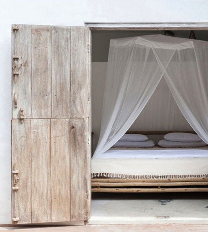 Mosquito Net Canopy at Casa Lola | Remodelista