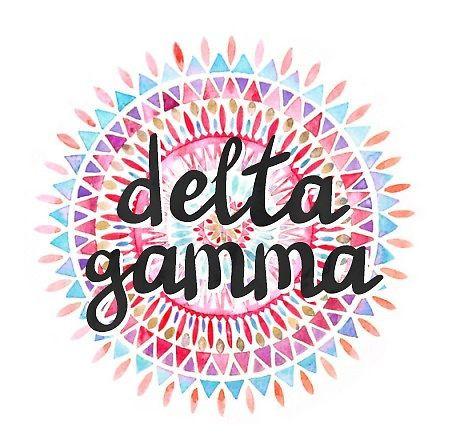 Delta Gamma - Mandala by deegeedesigns