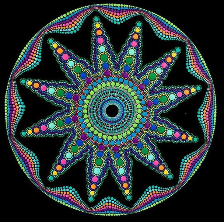 Pin Von Iris Auf Wandgestaltung: Pin Von Gerlinde Mai Auf Mandalas