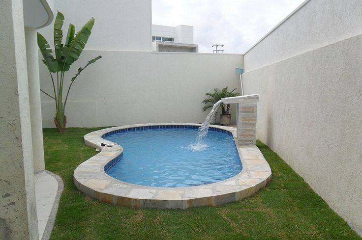 jardins com piscinas pequenas - Buscar con Google                                                                                                                                                     Más
