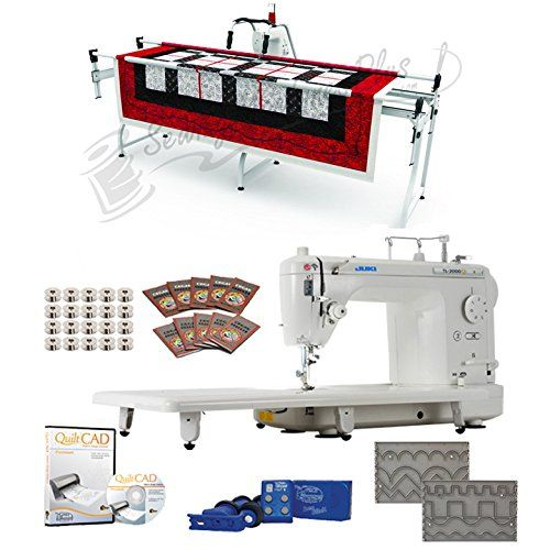 Juki TL40Q 40 Longarm Machine Grace SR40 Quilting Frame SureStitch Interesting Juki Sewing Machine Stitch Regulator