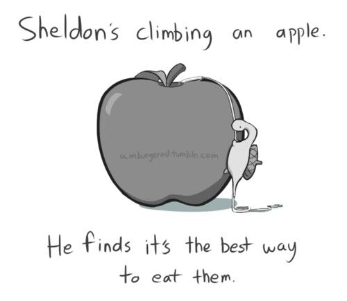 Sheldon... Your So cute!