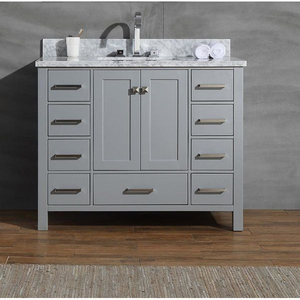 18++ 43 inch vanity with sink model