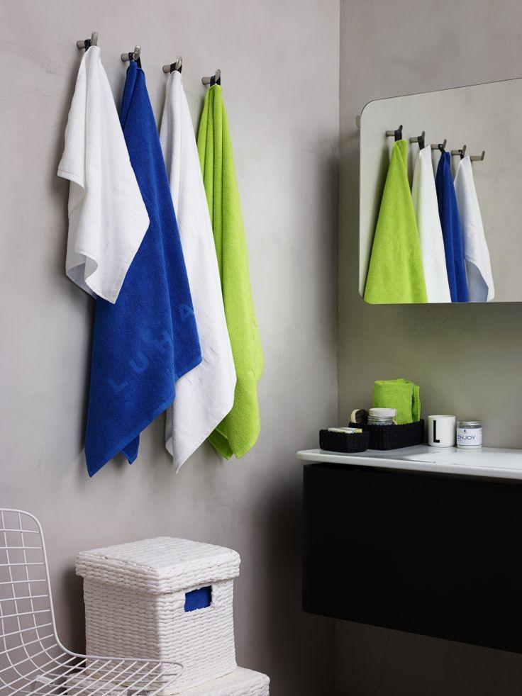 Luhta Home -kylpyhuonetekstiilit #luhta #luhtahome #kylpyhuone