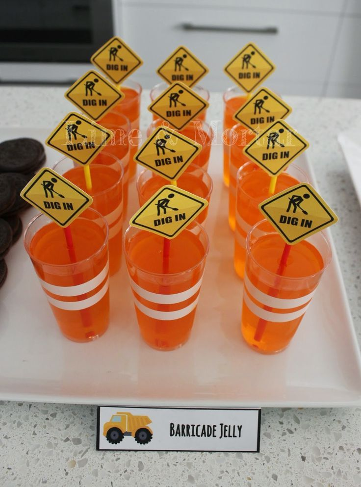 Barricade Jelly - Free printables too: