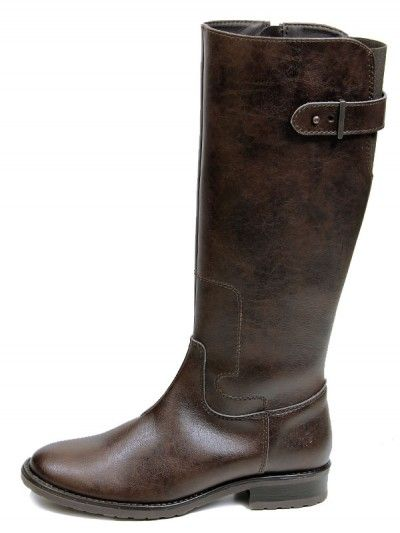 Vegan Non-Leather Women's Riding Boots in Dark Brown - Bought these and they are the best!