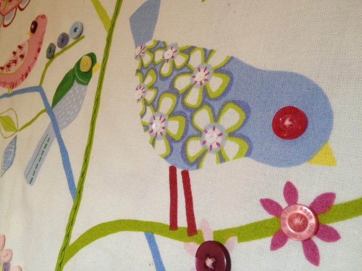 Lovely lapwing lane with dinky hand stitched decorations...