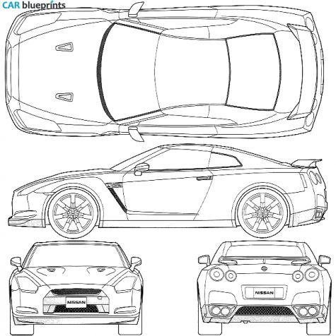 nissan r33 gtr coloring pages - photo#30
