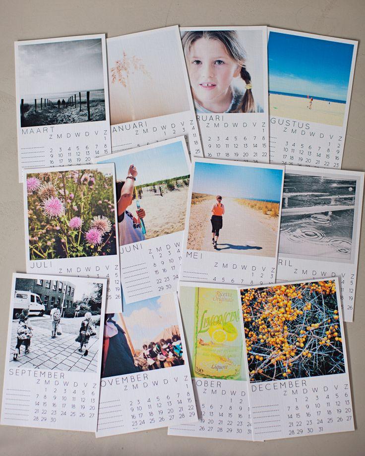 Instagram kalender DIY - Fotofavoriet - jouw foto inspiratie