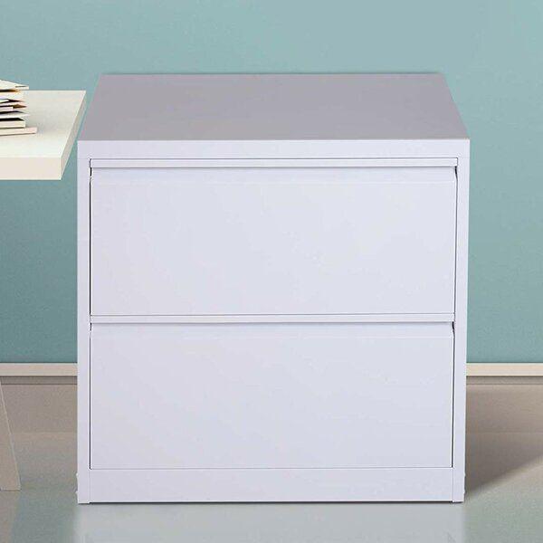 Donita Metal 2 Drawer Lateral Filing Cabinet Filing Cabinet Cabinet Drawers