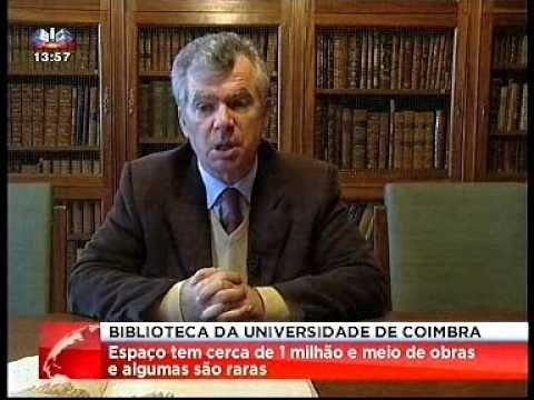 """Biblioteca Geral da Universidade de Coimbra contém """"tesouros"""""""