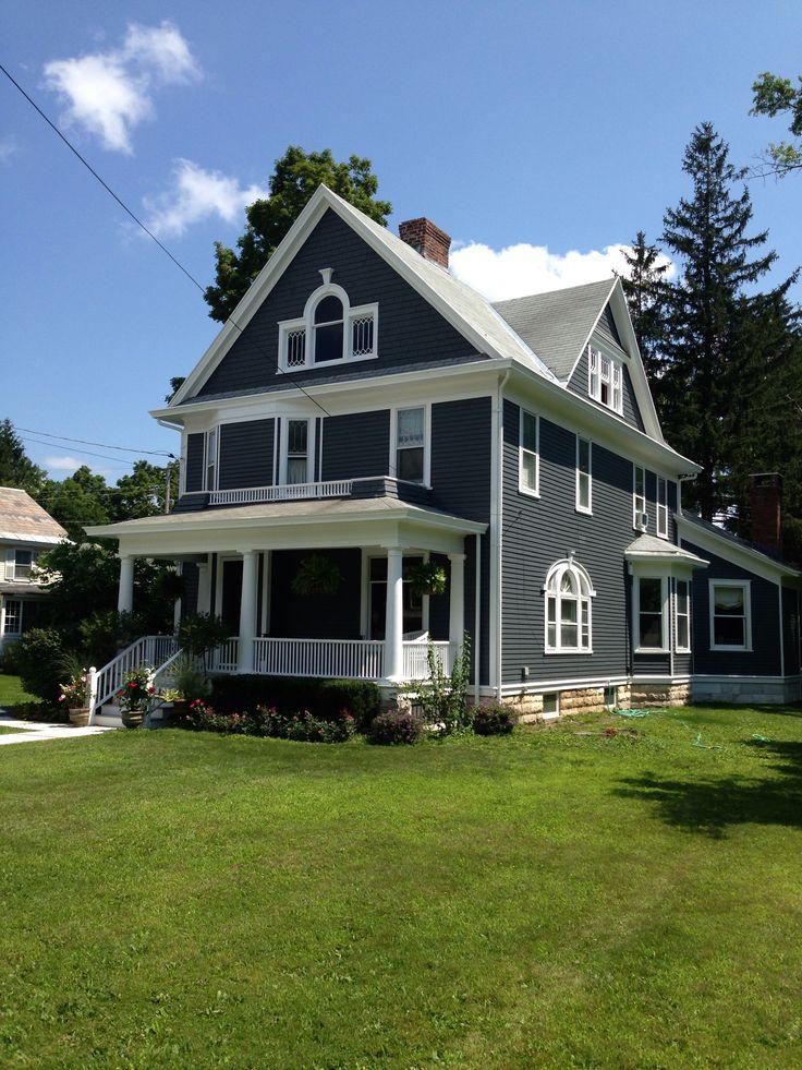 Flint Grey White Trim Exterior House Colors Pinterest White Trim And Exterior House Colors
