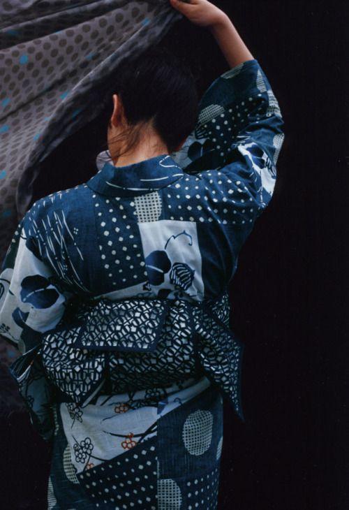 taishou-kun:  Anrealage yukata ISETAN YUKATA SELECTION イセタンユカタセレクション - Artistic director Yamaguchi Soudai 山口壮大 - 2014