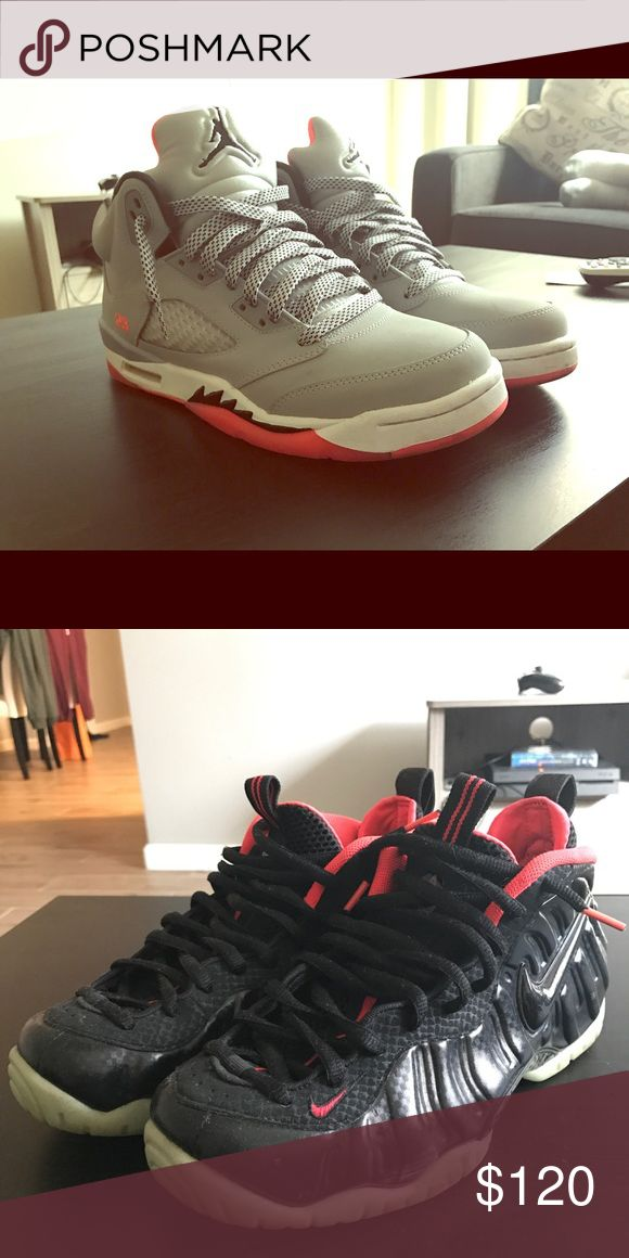 Jordan 5s and Yeezy Foams Both in really good condition, was given as a gift a while ago and it's not my size. Nike Shoes Sneakers