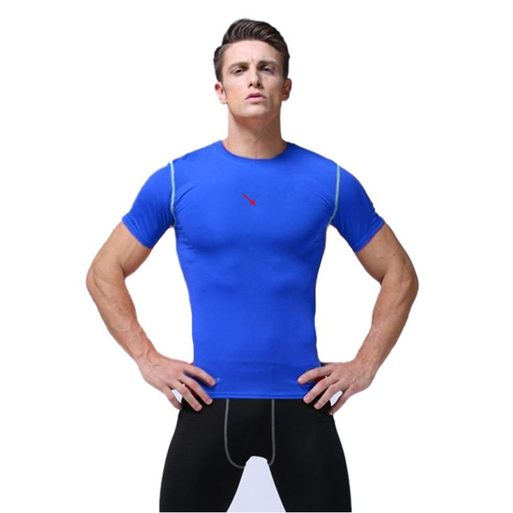 Brand Fitness Mens Basketball Jerseys Quick Dry Compression Gym Training Bodybuilding Football Pro T Shirts Men Sportswear