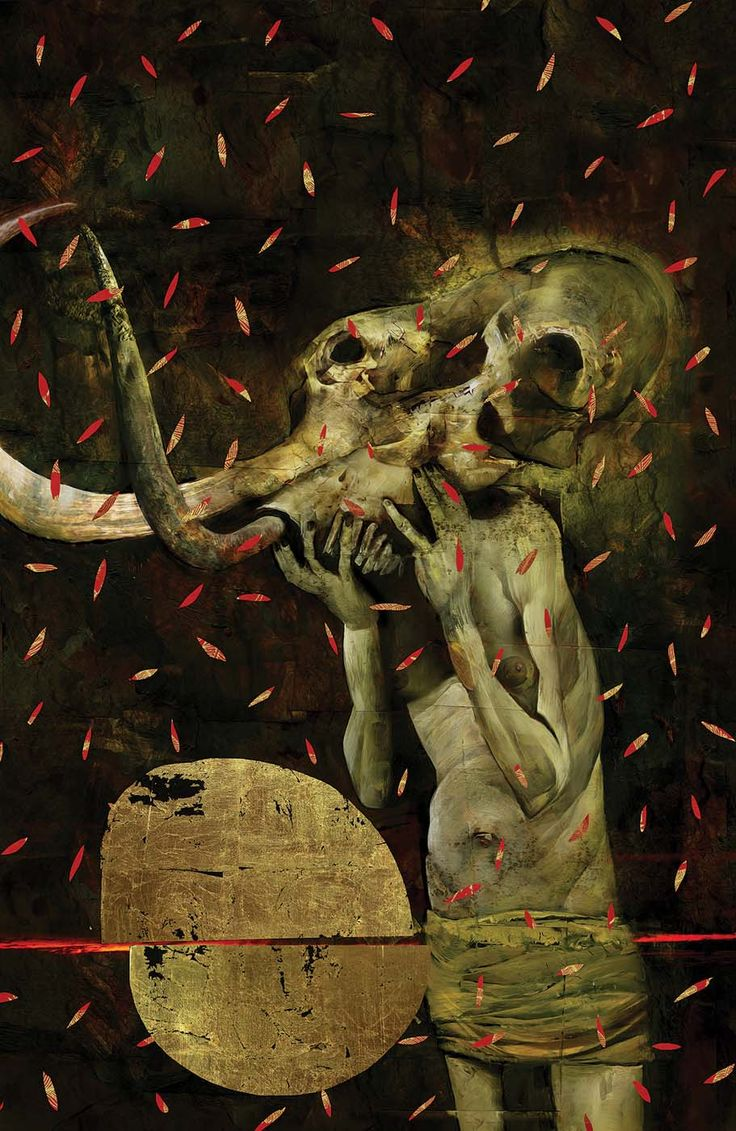 American Gods: Shadows #1 - Variant cover by Dave McKean