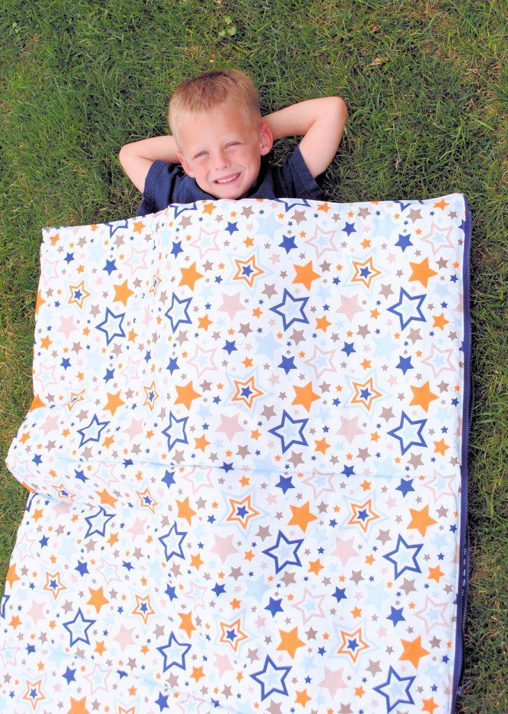 Free Sewing Pattern for Kids Sleeping Bag