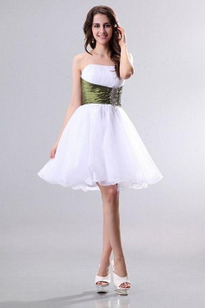 Prinzessin Organza Moderne Partei Kleid ba2255 - http://www.brautmode-abendkleid.de/prinzessin-organza-moderne-partei-kleid-ba2255.html - Ausschnitt: Trägerlos. Stoff: Organza. Ärmel: Ärmellos. Farbe: Weiß. Silhouette: Prinzessin. - 132.59