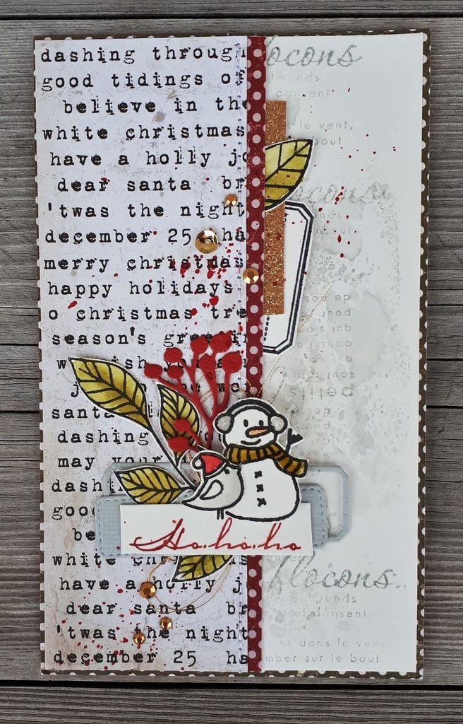 carte de noel pinterest Des cartes! (avec images) | Carte scrapbooking, Cartes, Cartes de