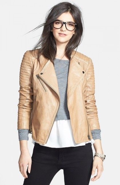 Fall Staple: Leather Jackets