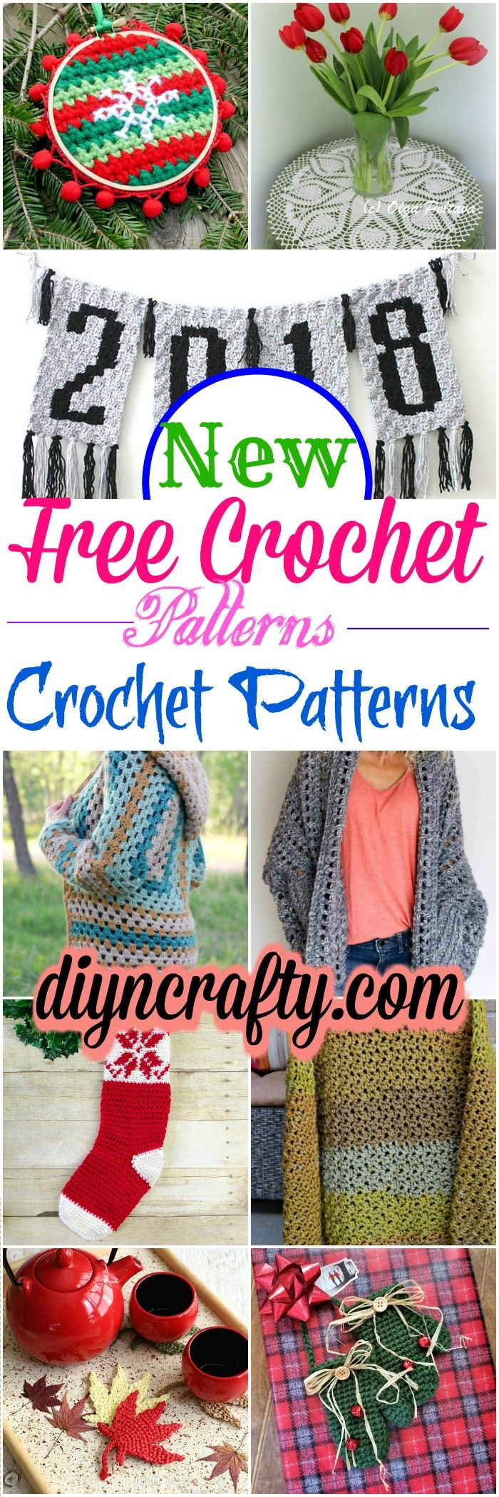 Here we have rounded up 15 new free #crochet #patterns that will really inspire you to make your new year more interesting and fun.