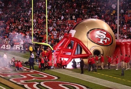 Candlestick Park... Home of the San Francisco 49ers. The excitement is back! http://www.stadium-advisor.com/san-francisco-49ers-schedule.html