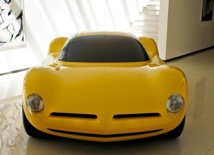Giorgetto Giugiaro's Lamborghini -