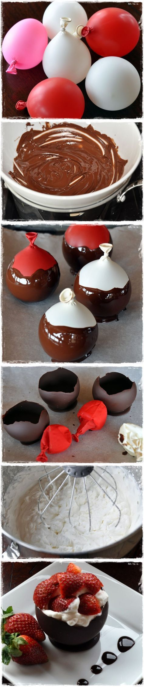 Chocolate Bowls with Chambord Whipped Cream and Berries   Save and organize favourites on your iPhone or iPad with @RecipeTin – without typing them in! Find out more here: www.recipetinapp.com #recipes #tips