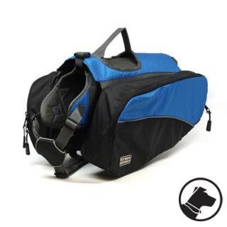 Kyjen Outward Hound Dog Backpack Large Blue