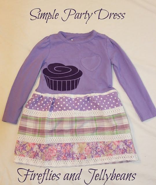 Simple Party dress tutorial