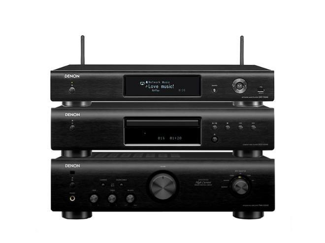 PMA-520AE + DCD-520AE + DNP-730AE BLACK #denon #hihi #stereo #ministereo #wieża #pma-520ae #dcd-520AE #dnp-730AE @ www.salonydenon.pl