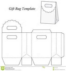 Gift Bag Template Paper Packaging And Bo Pinterest Box Bags A Diy