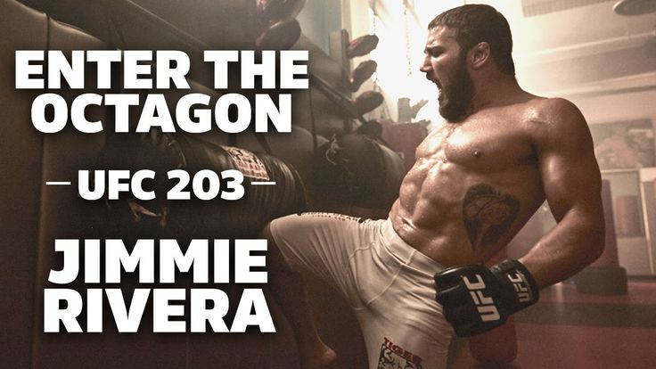 Enter The Octagon – UFC's Jimmie Rivera