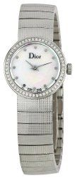 Christian Dior Women's CD041111M002 Baby Fixed Bezel Set with 52 Diamonds Watch