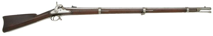 """The Springfield Model 1861 was a Minié-type rifled musket shoulder-arm used by the United States Army and Marine Corps during the American Civil War. Commonly referred to as the """"Springfield"""" (after its original place of production, Springfield, Massachusetts), it was the most widely used U.S. Army weapon during the Civil War, favored for its range, accuracy, and reliability."""