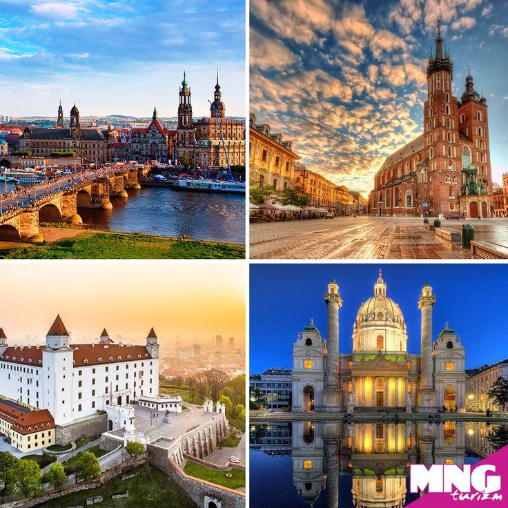 Bayram tatilinizi dolu dolu bir yurtdışı turunda geçirmek isterseniz Almanya Polonya Slovakya Avusturya turumuz tam size göre. Üstelik tüm çevre gezileri ve ekstra turlar dahil! bit.ly/MNGTurizm-almanya-polonya-slovakya-avusturya-turu-s