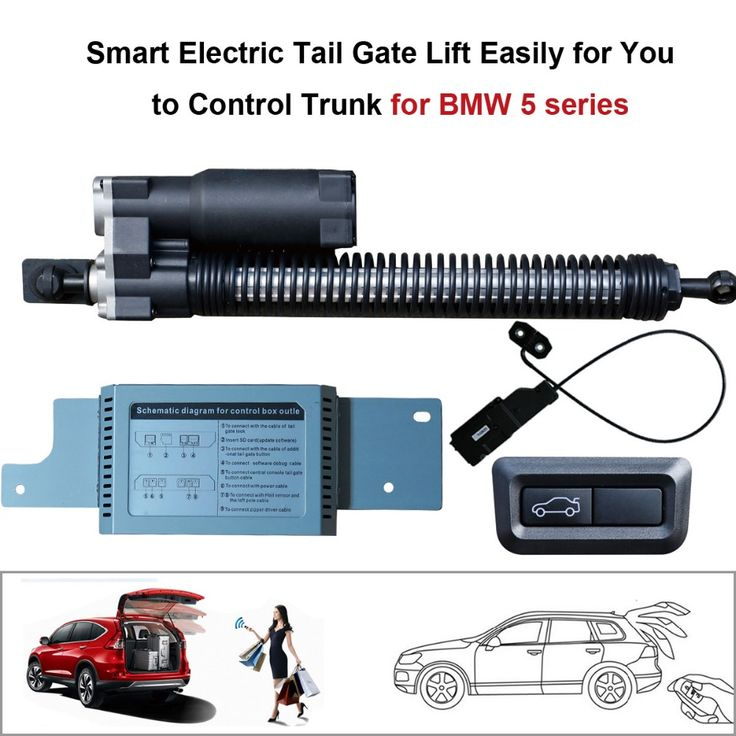 Smart Auto Electric Tail Gate Lift for BMW 5 series Remote Control Set Height Avoid Pinch With electric suction #Affiliate