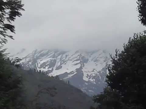Himalayan view from Manali, Hiamchal Pradesh