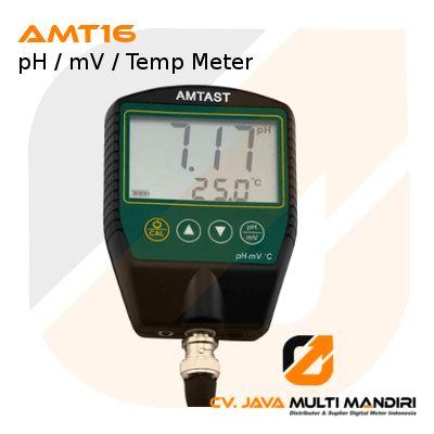 pH / mV / Temp Meter Seri AMT16