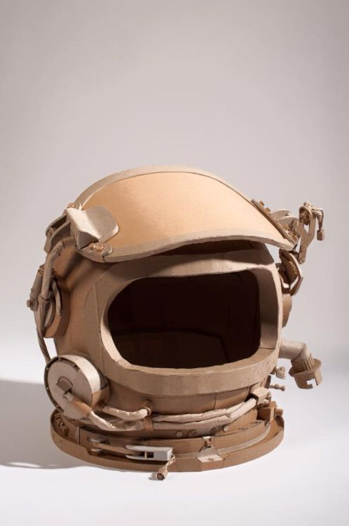 Devin Drakes art from recycled cardboard. | Cardboard mask ...